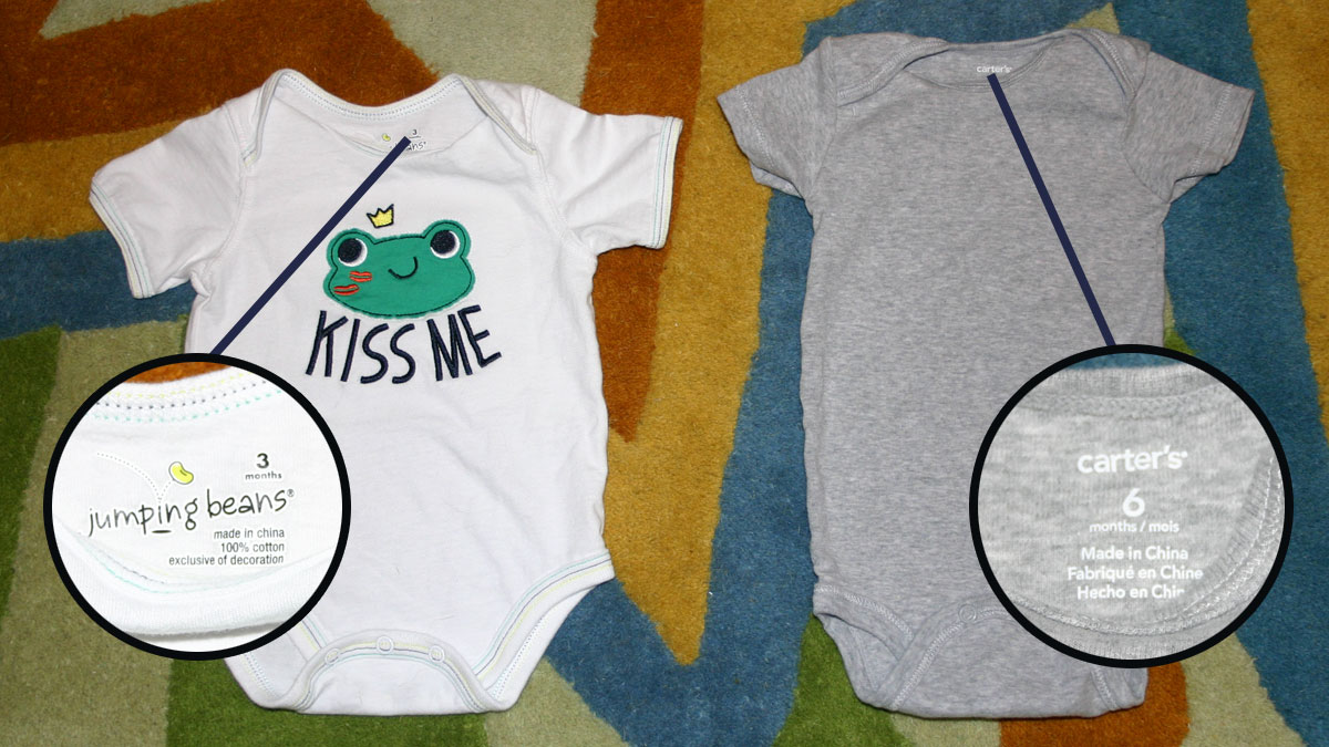 Baby Clothing Sizes are Ridiculous - Exhibit 2b