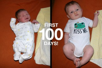 That Poore Baby's First 100 Days