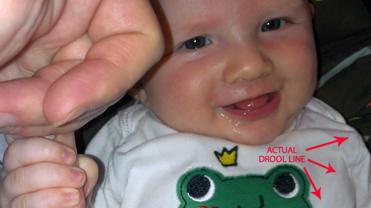 That Poore Baby is a drool monster