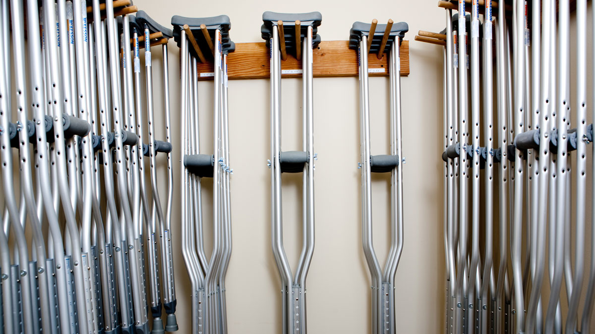 More Crutches Pronto