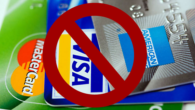 No Credit Cards - Photo by Petr Kratochvil