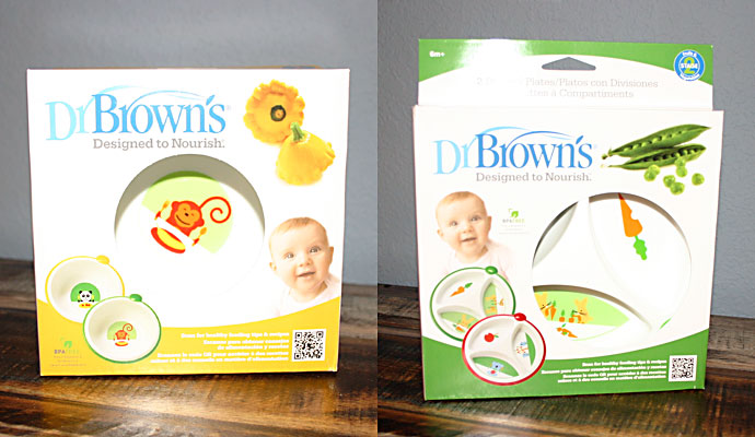 Dr. Brown's Feeding Bowls and Divided Plates