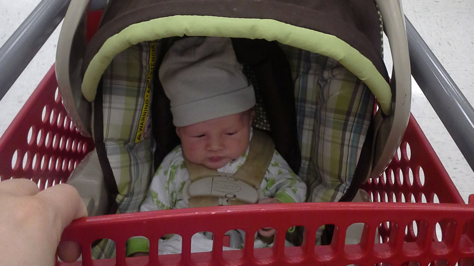Babies on Sale at Target!