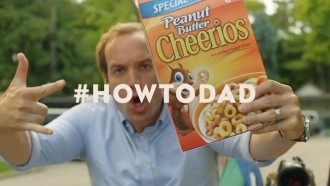 Peanut Butter Cheerios HowToDad Commercial