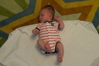 The Double Swaddle Burrito Supreme for Babies